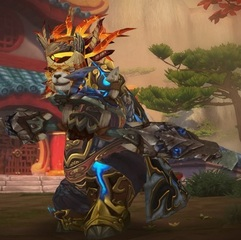Level 90 Male Pandaren Hunter Wow Accounts for sale