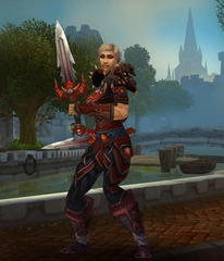Level 90 Female Human Rogue Wow Accounts for sale