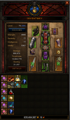 Level 70 Barbarian Wow Accounts for sale