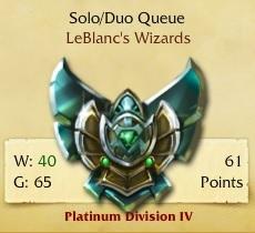 119 Champions, Platinum Division 4, 213 Skins