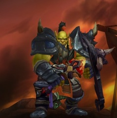 Level 100 Male Orc Warrior Wow Accounts for sale