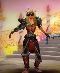 Level 100 Female Blood Elf Rogue Wow Accounts for sale