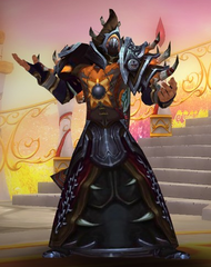 Level 100 Male Blood Elf Warlock Wow Accounts for sale