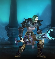 Buying WoW Account Level 80 Female Undead Death Knight (PvP)