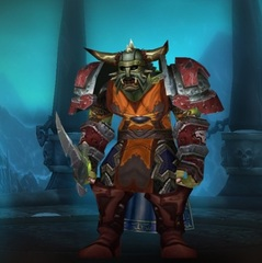 Buying WoW Account Level 80 Male Orc Death Knight (PvP)