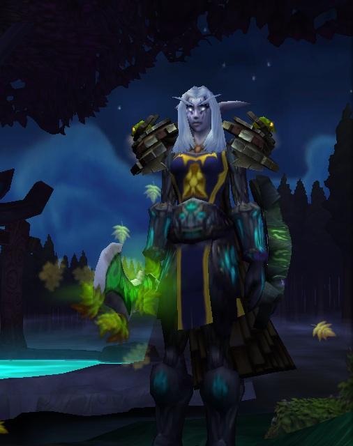 Female Night Elf Warrior