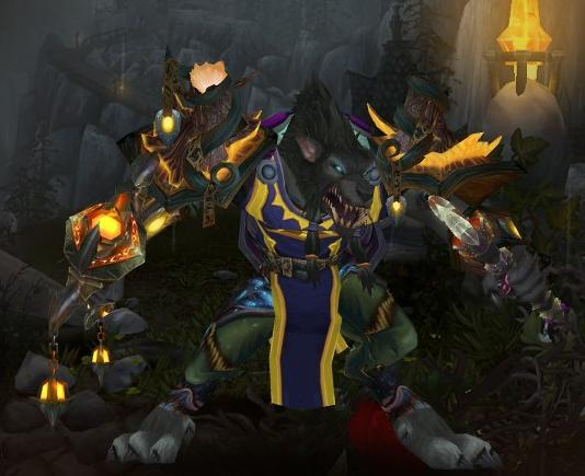 World Of Warcraft Worgen Druid