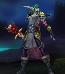 Buying WoW Account Level 85 Female Night Elf Druid