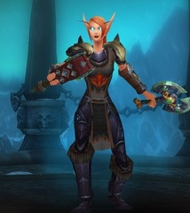 Buying WoW Account Level 84 Female Blood Elf Death Knight