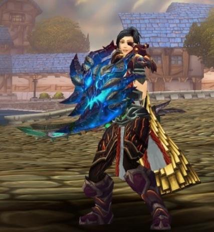 Warcraft Human Warrior Female