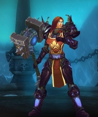 Buying WoW Account Level 85 Female Human Death Knight