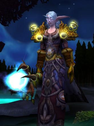 night female Warcraft elf