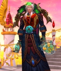 Level 90 Male Blood Elf Mage Wow Accounts for sale