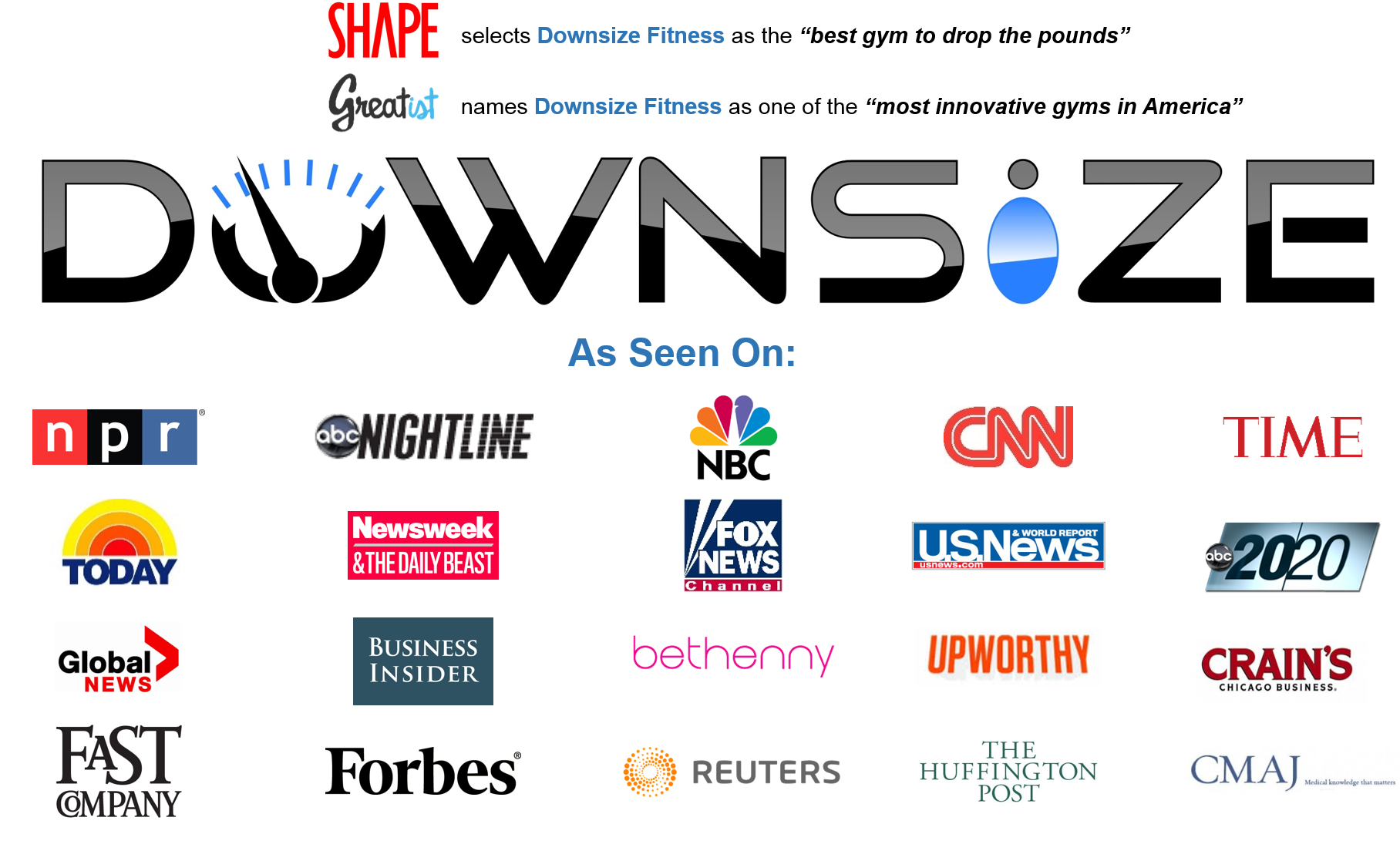 Downsize Fitness: gym to help people lose 50+ pounds. Franchise ...