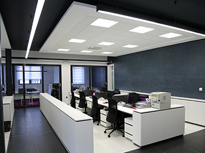office led lighting design supply and installation