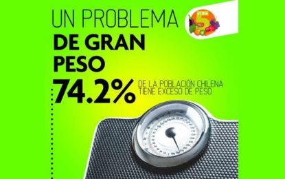 Encuesta Nacional de Salud 2016-2017: Obesidad y falta de conciencia de la sociedad chilena