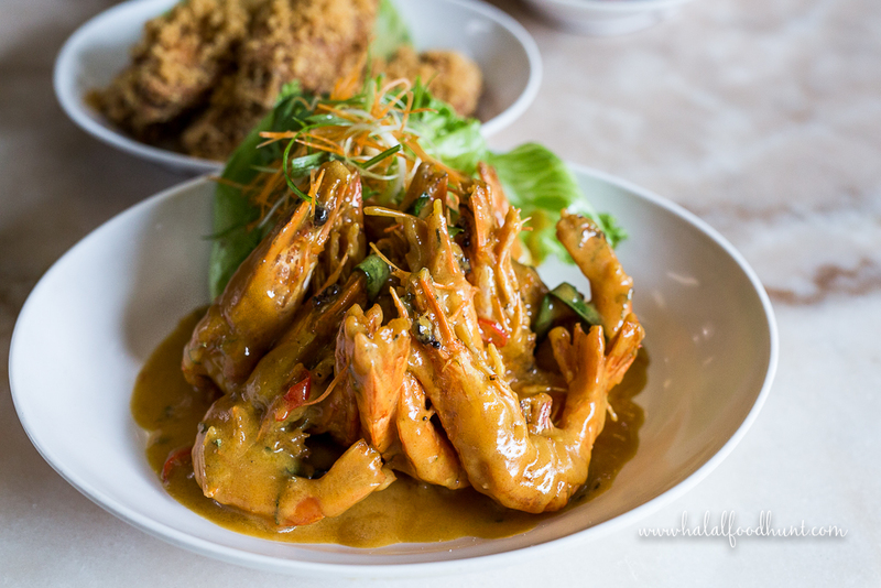 SEGAR VILLAGE_CREAM SAUCE PRAWNS