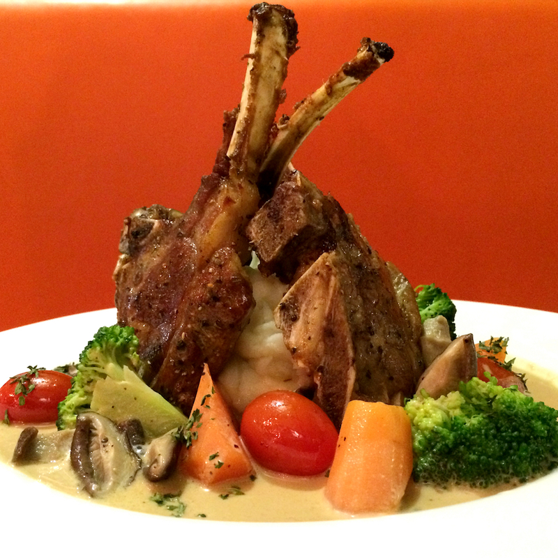 CITRUS HALAL LAMB RACK