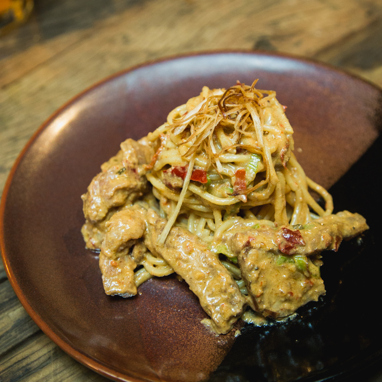 THE LAB_SALTED EGG PASTA