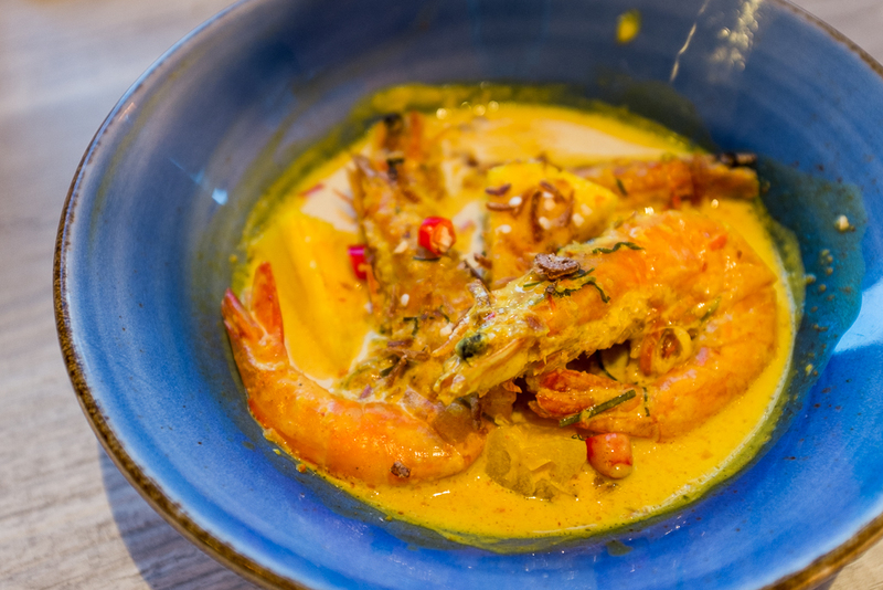 Chef Wan's Kitchen Prawn Curry with Pineapple