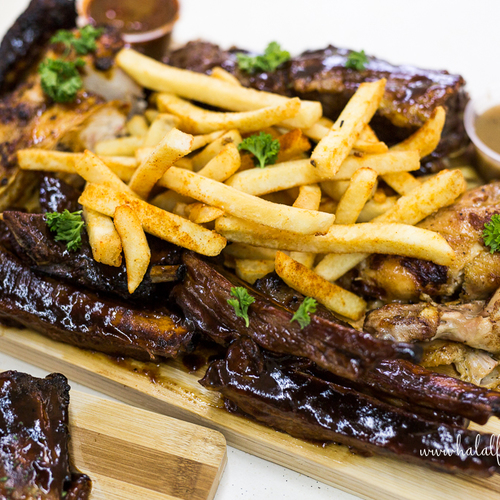 Charcos halal barbeque mix meat platter singapore