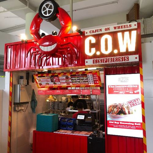 Cow express pasir ris central hawker centre