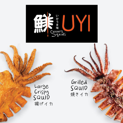 Uyi savoury squids products