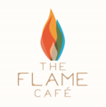 Flame cafe logo