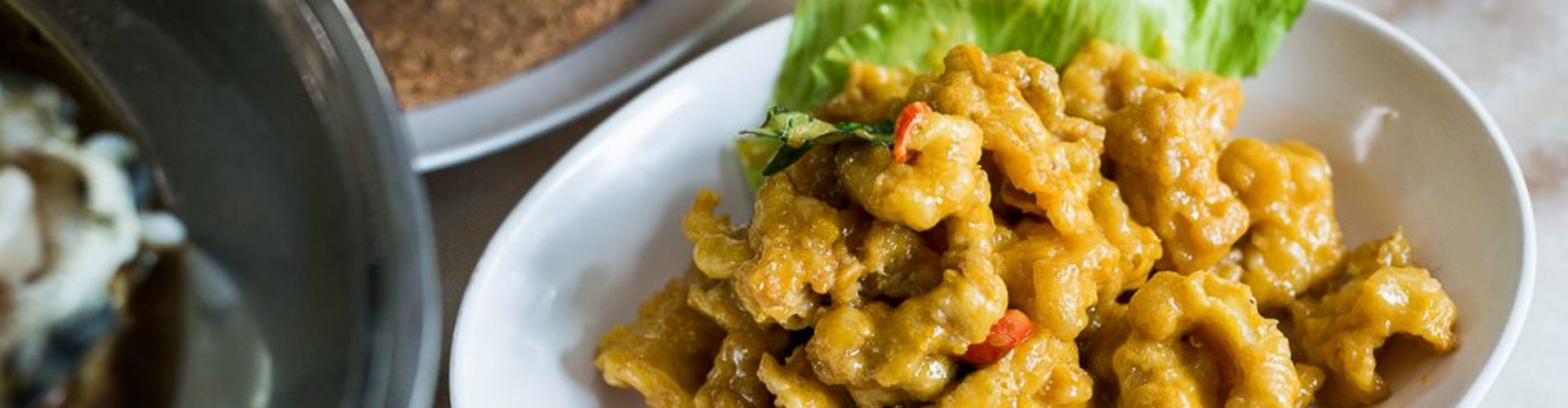Segar village salted egg chicken