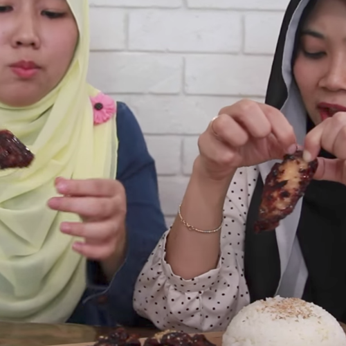 Halalfoodhunt   crispy korean chicken recipe