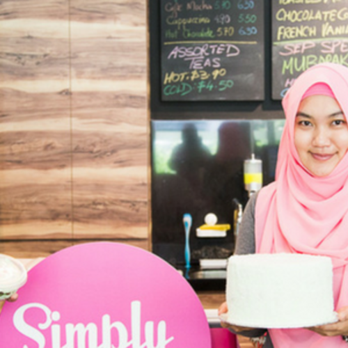 Simply sinless halal desserts owners aisyah and syayas