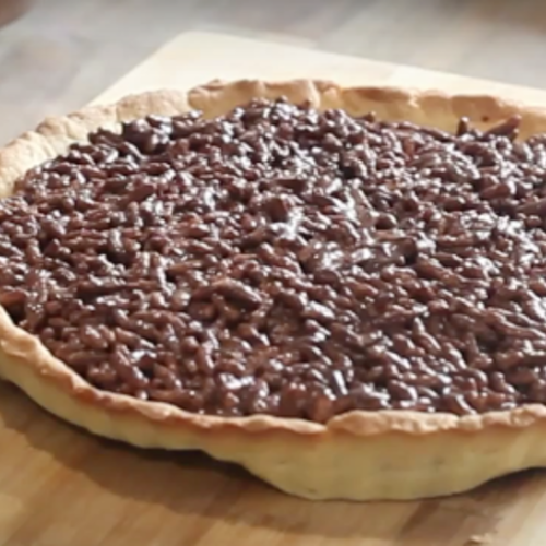 Halalfoodhunt   chocolate tart recipe