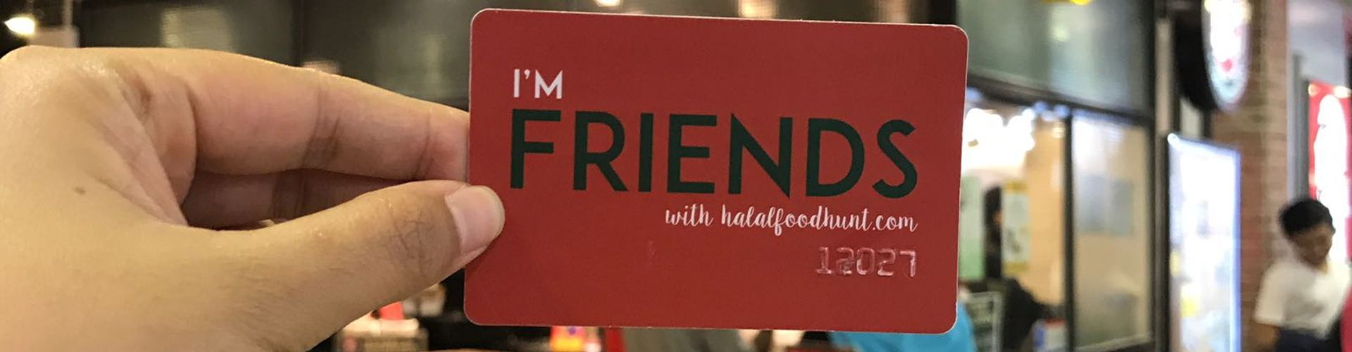 Halalfoodhunt friends card pastamania