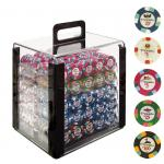 Acrylic Poker Chip Set Cases