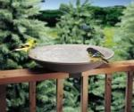 Deck Mounted Birdbaths