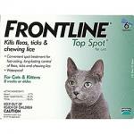 Flea & Tick Control for Cats