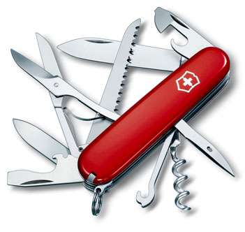 High-Caliber Highlight Swiss Army Knives