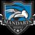 Mandarin logo hawk shield
