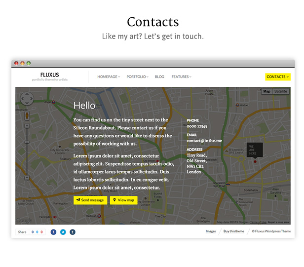 landing 04 - Fluxus - Portfolio Theme for Photographers