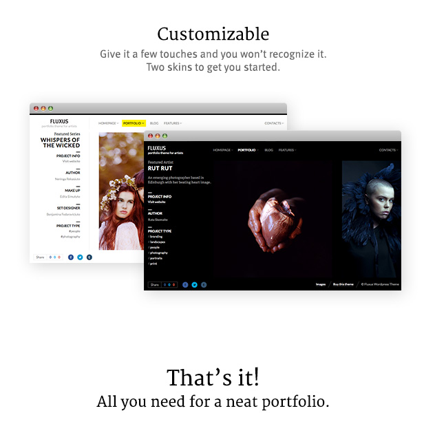 landing 06 - Fluxus - Portfolio Theme for Photographers
