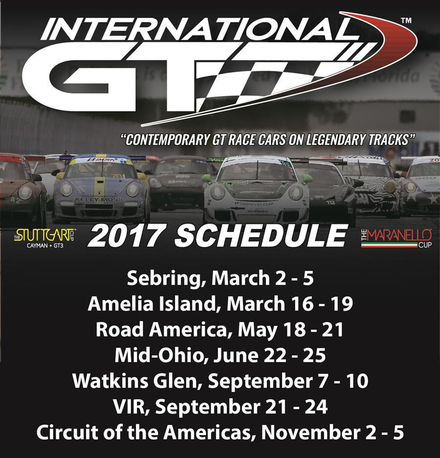 international gt schedule