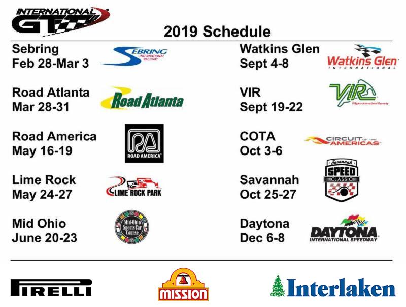 international-gt race schedule