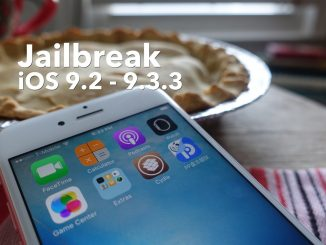 How-To: jailbreak iOS 9.2 - iOS 9.3.3 on iPhone, iPad or iPod touch