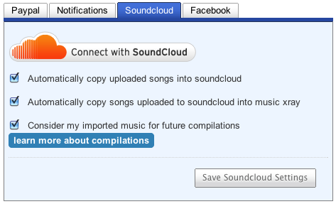 Adjust SoundCloud Settings
