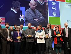 Grand Prix d'Aménagement  2015 repère OR pour le projet « Rivières dans la ville »