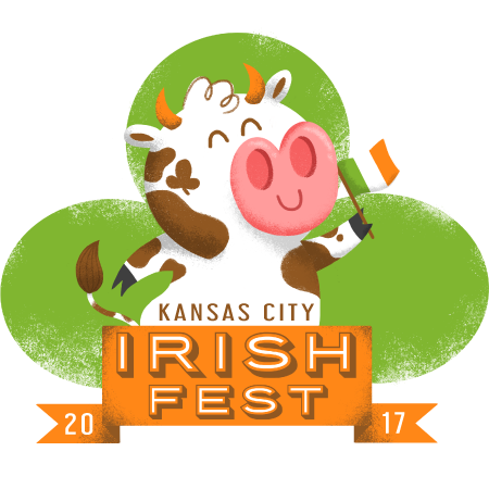 Kansas City Irish Fest Cow