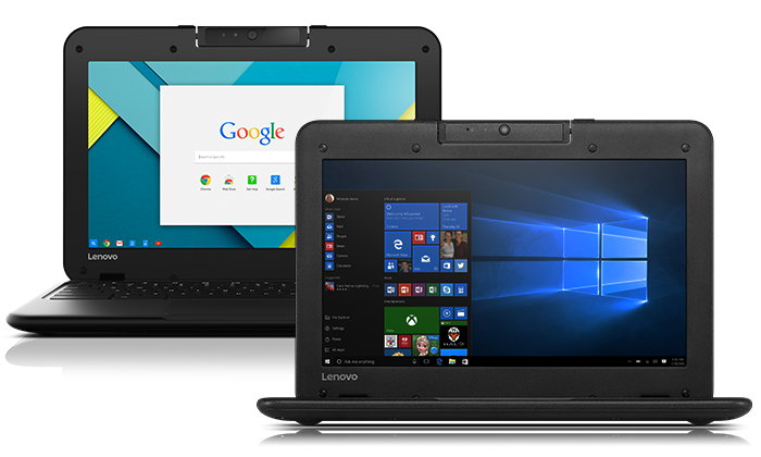 Lenovo N22 Chromebooks and Windows 10 Laptops