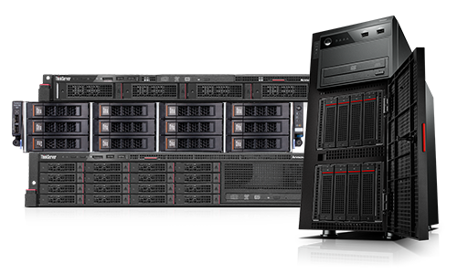 Lenovo 1P 2P Rack and Tower Servers