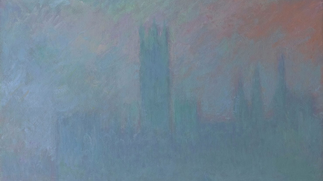 Monet houses of parliament web