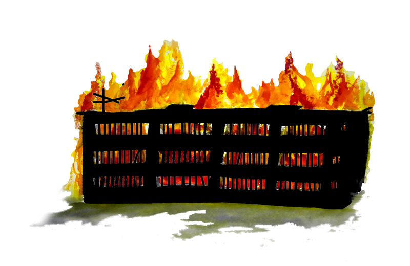 Prisonsareforburning
